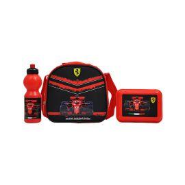 Ferrari Go Like The Wind Lunch Bag + Can