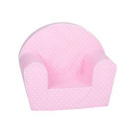 Delsit Arm Chair Pink Polka Dots