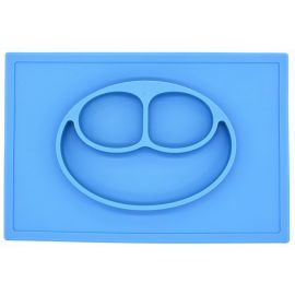 Eazy Kids Plate Square Green