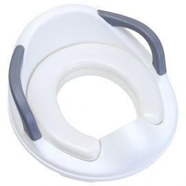 Eazy Kids Potty Trainer Cushioned Seat - White