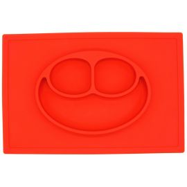 Eazy Kids Plate Square Red