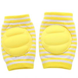 B-Safe Knee Pads Yellow Protective Pads (Stripes)