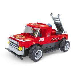 Ausini 185 Blocks Set 4 Channel Rc Fire Truck