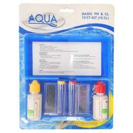 Aqua Test Kit Liquid Ph&Cl .