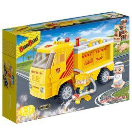 Banbao Fire Truck Local Tobee+Fireman