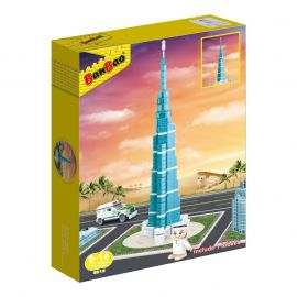 Banbao Burj Khalifa Crystal Clear 37.5Cm