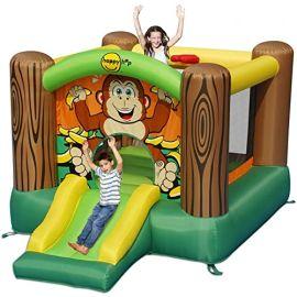 HAPPY HOP Gorilla Slide And Hop Bouncer