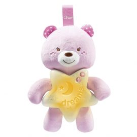 Chicco - Toy First Dreams Goodnight Bear - Pink