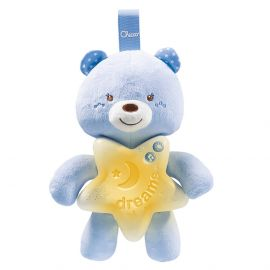 Chicco - Toy First Dreams Goodnight Bear - Blue