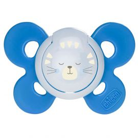 Chicco Physioforma Comfort Silicone Baby Pacifier 16-36m 1 pc, Lumi Night