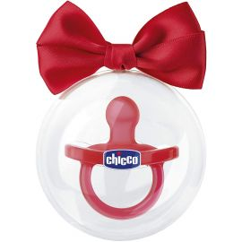 Chicco Physioforma Soft Silicone Baby Pacifier 6-16M 1 piece, Red