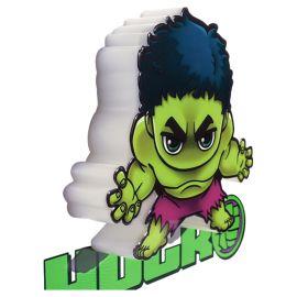 Mini Hulk 3D Deco Led Wall Light - Green