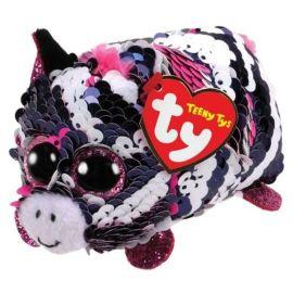 Teeny Flipable Zebra Pennie Pink 2in Woc