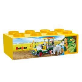 Banbao Plastic Storage Box 7256-3