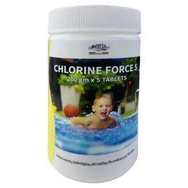 Aqua Action Chlorine Force5 Tablet250Gr.