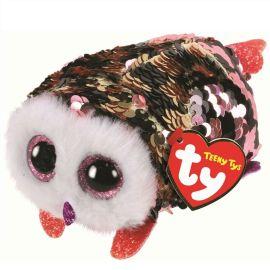 Teeny Flippable Owl Checks 2in Woc