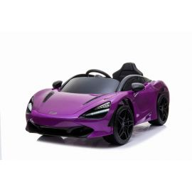 McLaren 720S Kids Ride On Car with RC Purple