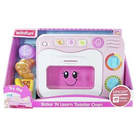 Winfun - Bake & Learn Toaster Oven - Pink