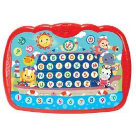 WinFun - Tiny Tots Learning Pad Educational Tablet PC - Red