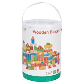 Lelin - Wooden Blocks - 100pcs