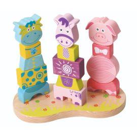 Lelin - Farm Animal Blocks