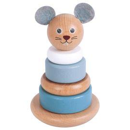 Lelin - Rat Stacker Toy