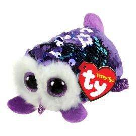Teeny Flippable Owl Mimi Purple 2in Woc