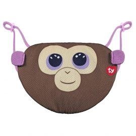 Ty - Beanie Boo Face Mask Monkey Coconut - Brown
