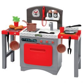 Ecoiffier - Modular Kitchen - Red