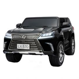 Ride on Lexus with 24v, 4x4, 2 Seater, Licensed Ride on Car Black