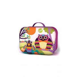 Happy Snack! Owl Soft 3D Lunchbox