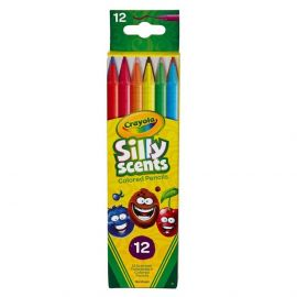 Crayola - 12 Silly Scents Twistables Colored Pencils