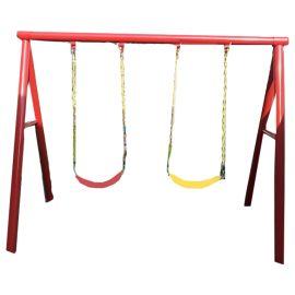 Gambol -  Twin Swings Metal Play Set
