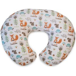 Chicco Boppy Nursing Pillow With Slipcover 0m+ Woodland