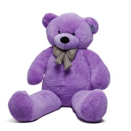 "Paddington 78"" Giant Teddy Bear (Purple Color) 200 Cm"