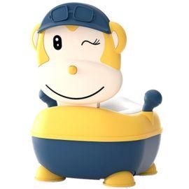 Eazy Kids Monkey Potty - Yellow