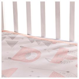 Sunveno - Baby Mattress Protector Mat Large - Pink