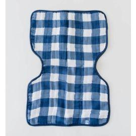 Little Unicorn - Cotton Muslin Burp Cloth - Jack Plaid
