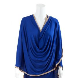 Breastfeeding Blanket Cobalt Blue
