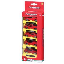 Bburago - Ferrari Race & Play Scale 1:64 Diecast Car, Assorted