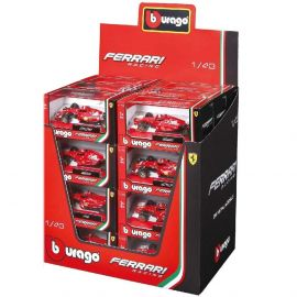 Bburago - Leclerc Ferrari SF90 Diecast Model Car 1pc - Assorted