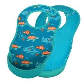 Bibetta - Ultrabib Double Pack Tropical Fish & Turquoise Sea