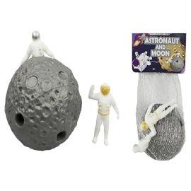 Keycraft - Stretchy Astronaut & Moon