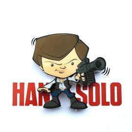 3D Star Wars Mini Han Solo Light