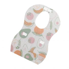 Sunveno Disposable Baby Bibs - 20 pcs-Fruit