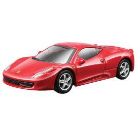 Bburago - Ferrari 458 Italia Diecast Model Car - Red