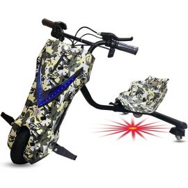 Top Gear - Drift Scooter With Light Under The Set 26V - Camo