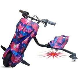 Top Gear - Drift Scooter With Light Under The Set 26V - Pink