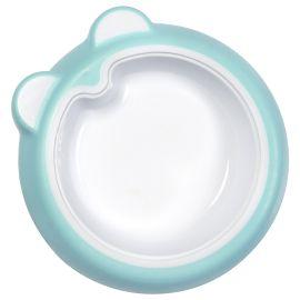 Badabulle - Anti Slip Plate - Ice Blue