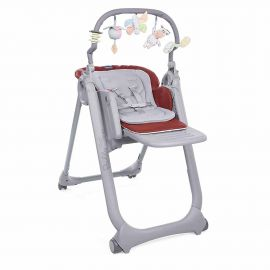 Chicco - Polly Magic Relax High Chair 0-3y - Red Passion
